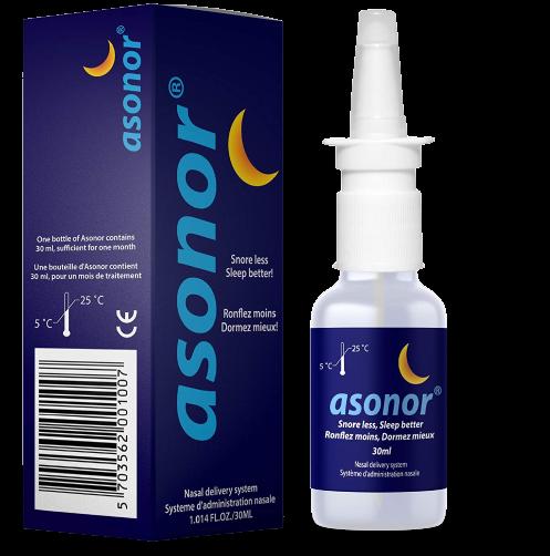 asonor anti snoring spray