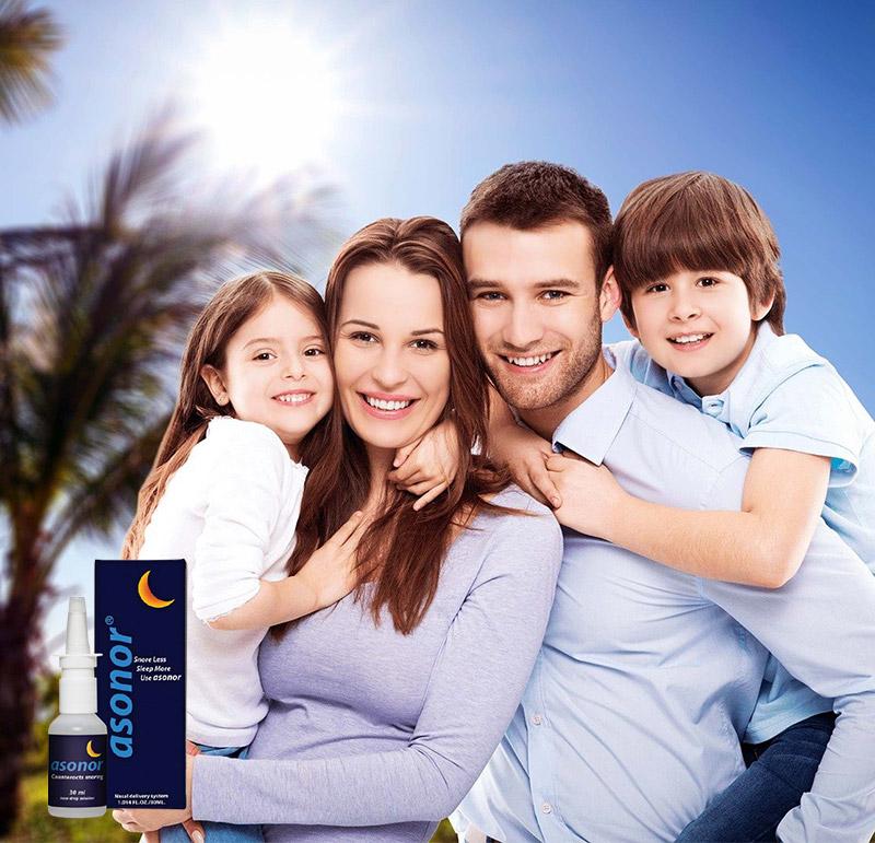 asonor make the family happy