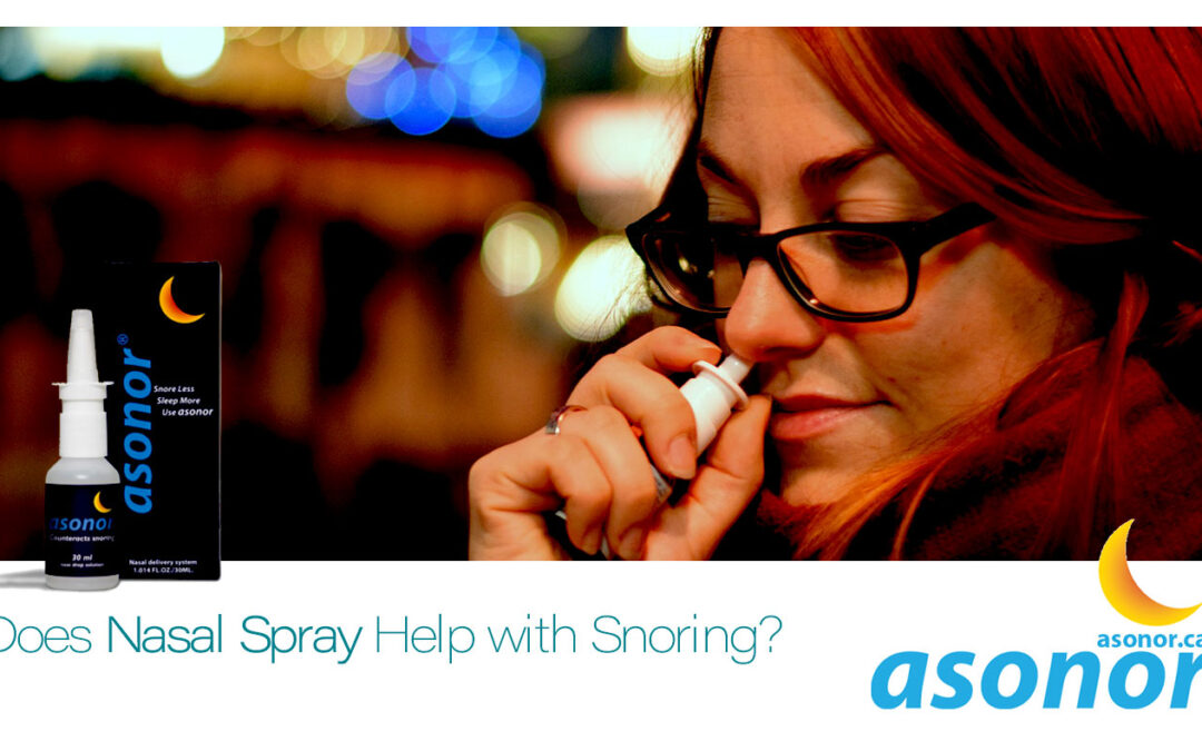 Nasal Spray for Snoring | Does Nasal Spray Help with Snoring?💤 Zzz 😴